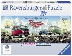 RAVENSBURGER 1000 EL. BUSEM PRZEZ ALPY PANORAMA PUZZLE 14+