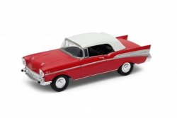 WELLY CHEVROLET 1957 BEL AIR SKALA 1:34