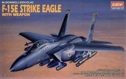 ACADEMY F-15E STRIKE EAGLE WWEAPON SKALA 1:48 8+