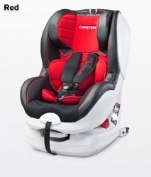 CARETERO FOTELIK DEFENDER+ 0-18 KG ISOFIX RED