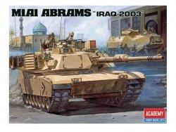 ACADEMY M1A1 ABRAMS IRAQ 2003 SKALA 1:35
