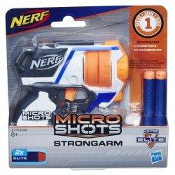 HASBRO NERF MICROSHOTS STRONGARM E0719 8+