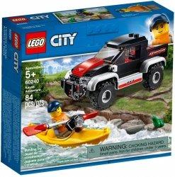 LEGO CITY PRZYGODA W KAJAKU 60240 5+