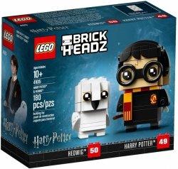 LEGO BRICKHEADZ HARRY POTTER I HEDWIGA 41615 10+