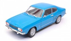 WELLY 1969 FORD CAPRI, NIEBIESKI SKALA 1:24
