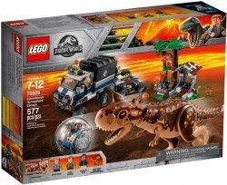 LEGO JURASSIC WORLD UCIECZKA PRZED KARNOTAUREM 75929 7+