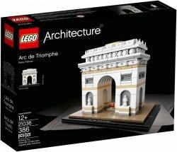 LEGO ARCHITECTURE ŁUK TRIUMFALNY 21036 12+