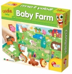 LISCIANIGIOCHI CAROTINA BABY FARMA 12M+