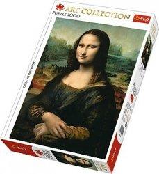 TREFL 1000 EL. ART COLLECTION MONA LISA PUZZLE 12+