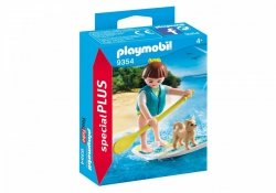 PLAYMOBIL FIGURKA STAND UP PADDLING 9354 4+