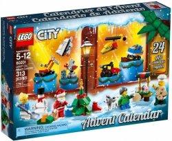 LEGO CITY KALENDARZ ADWENTOWY 60201 6+