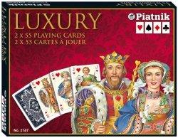 PIATNIK KARTY LUXURY - 2 TALIE 8+