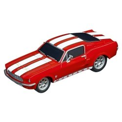 CARRERA AUTO GO!!! FORD MUSTANG 67 - RACE RED 6+