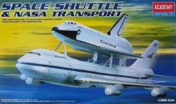ACADEMY SPACE SHUTTLE & NASA TRANSPORT 12708 SKALA 1:288