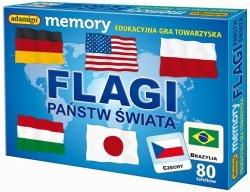 ADAMIGO GRA MEMORY PAMIĘĆ FLAGI 5+