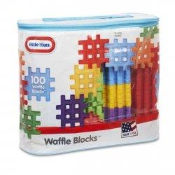 LITTLE TIKES KLOCKI WAFFLE BLOCKS ZESTAW 100 EL. 2+