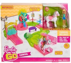 MATTEL BARBIE ON THE GO WESOŁE MIASTECZKO FHV70 4+