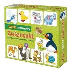 ADAMIGO GRA MEMORY ZWIERZAKI 3+