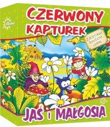 ABINO GRA CZERWONY KAPTUREK - JAŚ I MAŁGOSIA 5+