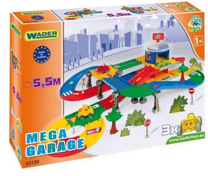 Wader Garaż Z Trasą 55m Kid Cars 3d 12m Domki Garaże Parkingi