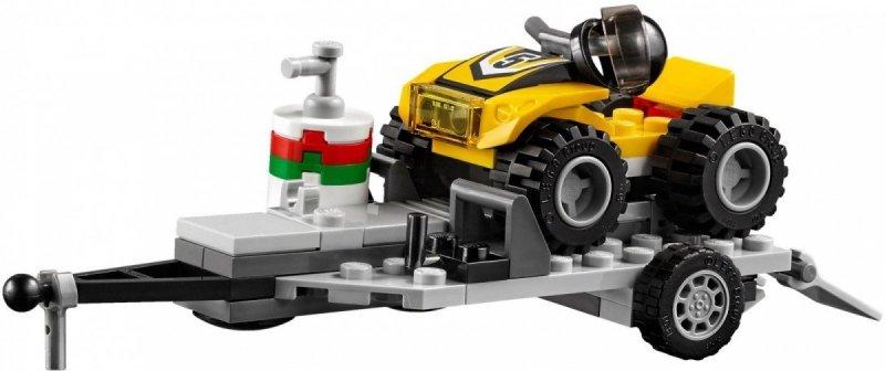 LEGO CITY WYŚCIGOWY ZESPÓŁ QUADOWY 60148 5+