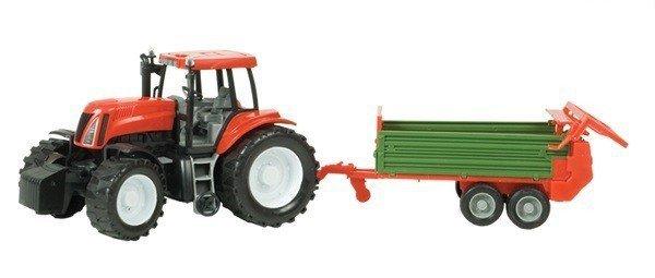Dromader Zestaw Traktor z maszyną Spielzeugautos