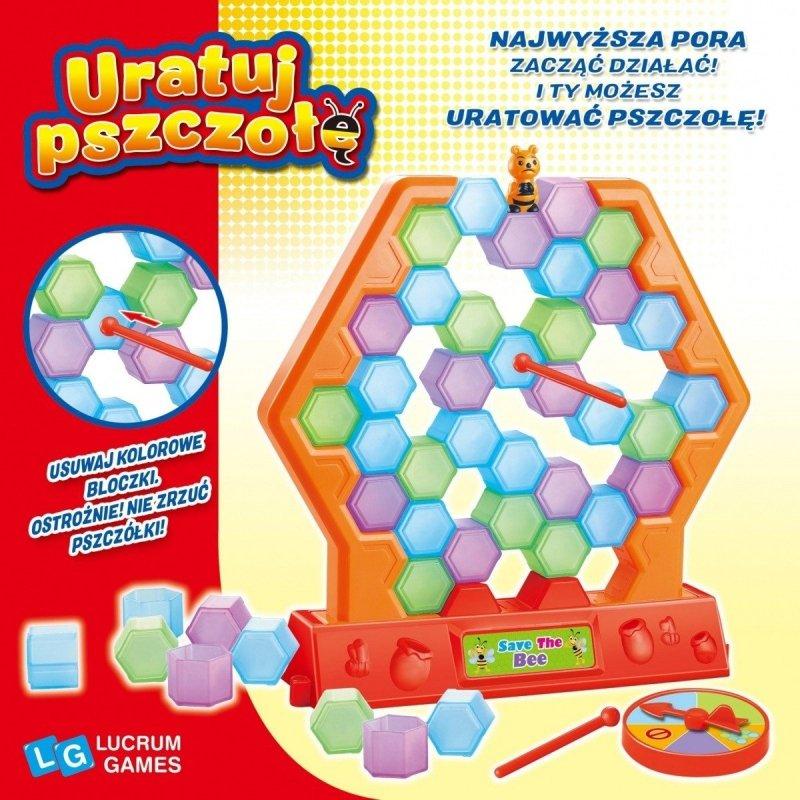 LUCRUM GAMES GRA URATUJ PSZCZOŁĘ 3+
