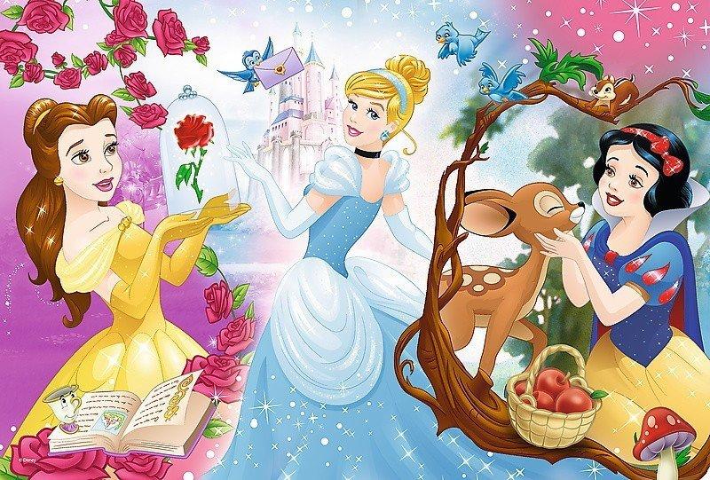 Trefl 60 El Księżniczki Disneya Zaproszenie Na Bal Puzzle 4 50