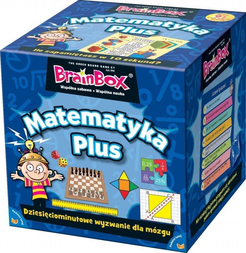 REBEL GRA BRAINBOX MATEMATYKA PLUS 9+