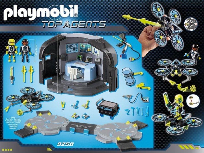 PLAYMOBIL CENTRUM DOWODZENIA DR. DRONEA 9250 6+