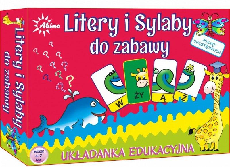 ABINO LITERY I SYLABY - UKŁADANKA 5+