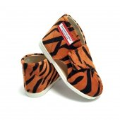 Kapcie dla dzieci na rzep NATURE Tygrys