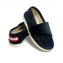 Buty dla dzieci na rzep Slippers Family Czarna Pantera