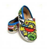 Buty dla dzieci na rzep Slippers Family Story