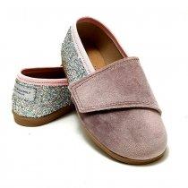 Buty dla dzieci wizytowe Slippers Family Glam Pink