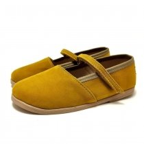 Baleriny dla dzieci Slippers Family Basic Honey