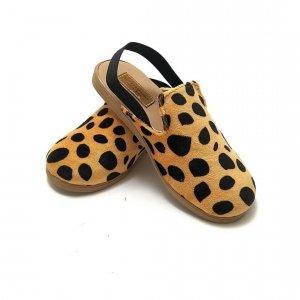 Kapcie dla dzieci z gumką Slippers Family Gepard