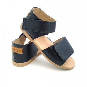 Outlet Sandały skórzane dla dzieci NEGRO