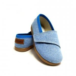 Buty dla dzieci na rzep Slippers Family Forget Me Not