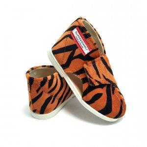 Kapcie dla dzieci na rzep BASIC Tygrys