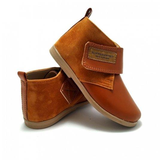 Buty skórzane dla dzieci FOX