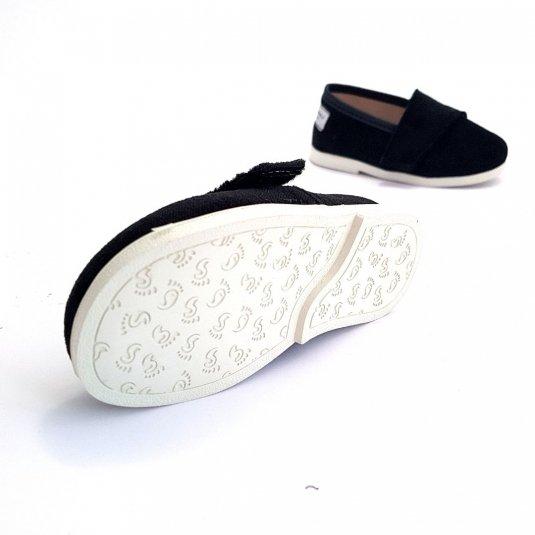 Buty dla dzieci na rzep LOWERKI Czarna Pantera