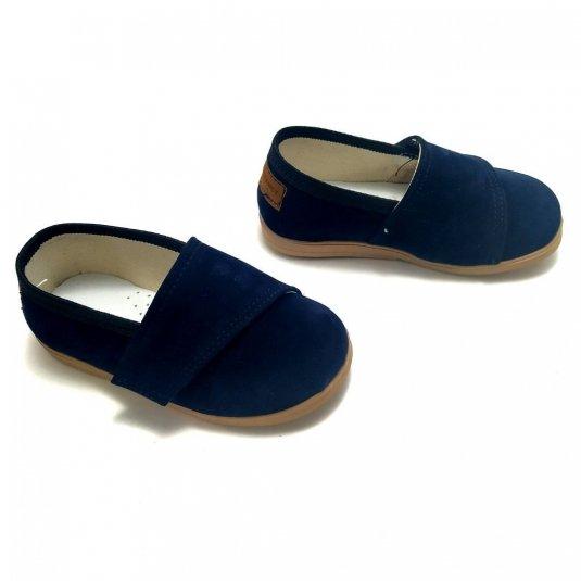 Buty dla dzieci z rzepem LOWERKI Szafir KOLEKCJA LIMITOWANA