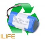 regeneracja akumulatora do robota odkurzającego ILIFE V3, V3S, V3S PRO, V5, V5S, V5S PRO, X5, CHUWI I-LIFE V3, V3S, V3S PRO, V5, V5S, V5S PRO, X5