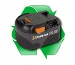 regeneracja akumulatora AEG L1430, L1430R - 14,4V 2,6Ah, 3,0Ah lub 4,0Ah