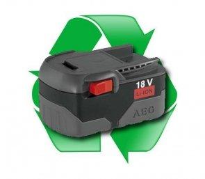 regeneracja akumulatora AEG 18V L1830, L1830R, L1826 - 2,6Ah, 3,0Ah lub 4,0Ah