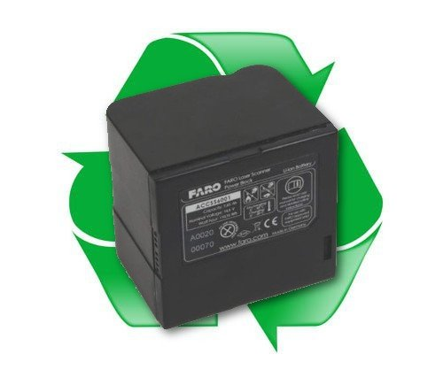 regeneracja baterii ACCSS6001, ACCSS6002 do Skanera Laserowego FARO Focus 3D 120, Trimble TX5