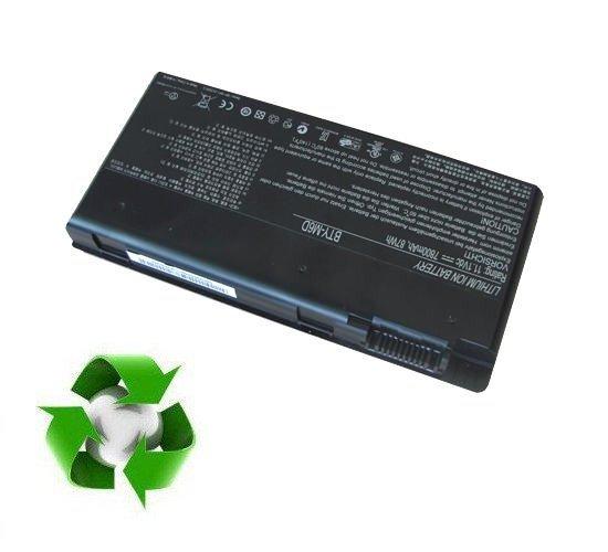 MSI GT66, GT660, GT680, GX780 - 11,1V 7800 mAh