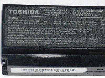 Toshiba Satellite A660, C650, L630, L650, M300, U400, U500 - 10,8V 6000 mAh