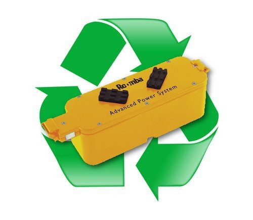 regeneracja akumulatora ni-mh 14,4V do odkurzaczy autonomicznych iRobot Roomba 400, 4000, 5000, Roomba Intelligent Robotic M-288, M-ROBOT M-288, M-488